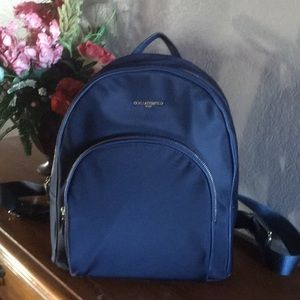 Karl Lagerfeld Bags - Karl Lagerfeld Cara Nylon Backpack - Navy Blue